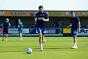 AFC Wimbledon midfielder Anthony Wordsworth (40) warming up during the EFL Sky Bet League 1 match between AFC Wimbledon and Bristol Rovers at the Cherry Red Records Stadium, Kingston, England on 21 September 2019.