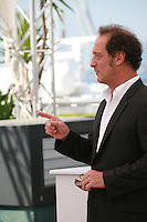 Actor Vincent Lindon at La Loi Du Marché – The Measure Of A Man film photo call at the 68th Cannes Film Festival Monday May 18th 2015, Cannes, France.