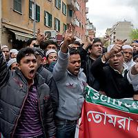 Roma : Comunità Islamica  contro scritta blasfema
