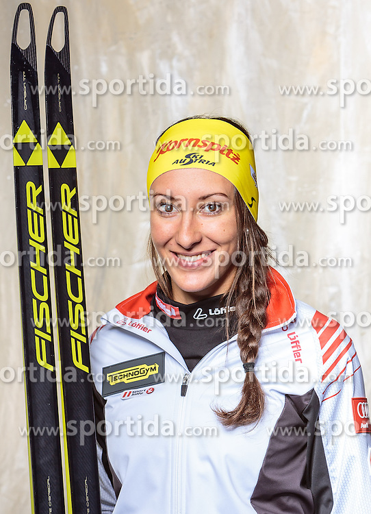 08.10.2016, Olympia Eisstadion, Innsbruck, AUT, OeSV Einkleidung Winterkollektion, Portraits 2016, im Bild Julia Schwaiger, Biathlon, Damen // during the Outfitting of the Ski Austria Winter Collection and official Portrait Photoshooting at the Olympia Eisstadion in Innsbruck, Austria on 2016/10/08. EXPA Pictures © 2016, PhotoCredit: EXPA/ JFK