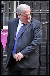 Patrick McLoughlin arrives at No10 Downing on the day of the 1st Coalition Government Cabinet reshuffle, London, Tuesday September 4, 2012 Photo Andrew Parsons/i-Images