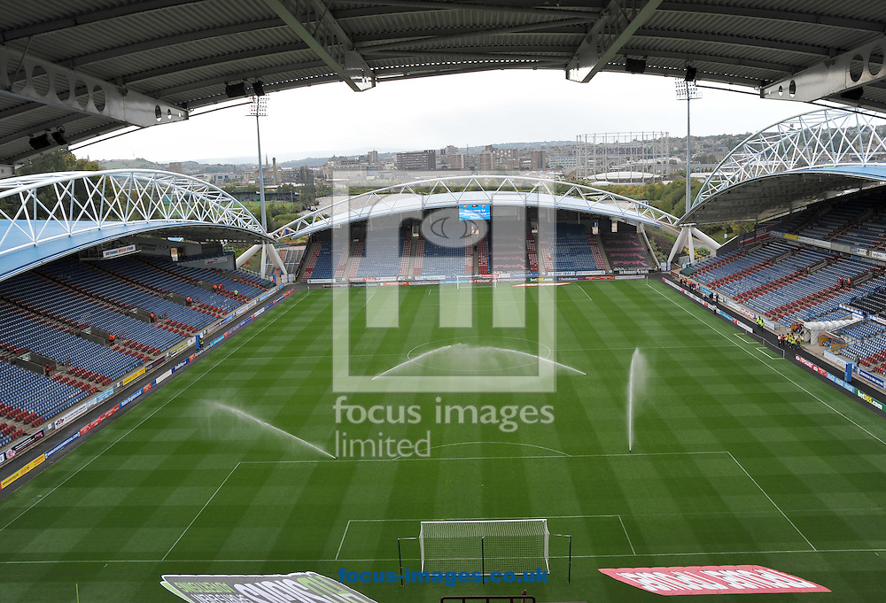 Picture by Graham Crowther/Focus Images Ltd. 07763140036.24/9/11 .Home of Huddersfield Town. The Galpharm Stadium, Huddersfield.