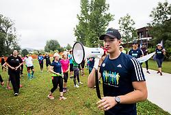 Miha Zargi, Poletni tek, Priprave na Ljubljanski maraton 2018, on June 23, 2018 in Ljubljana, Slovenia. Photo by Vid Ponikvar / Sportida