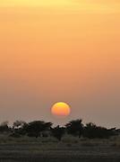 Sunset in Bachik&eacute;, Ennedi region.<br /> <br /> Bachik&eacute; al tramonto. Ennedi.