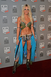 © Licensed to London News Pictures. 26/10/2017. London, UK. Louisa Johnson attends the Kiss House Party Live event at the SSE Wembley Arena. Photo credit: Ray Tang/LNP