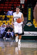 26 November 2005: MU senior guard, Chris Kenny, in the Monmouth University 54-62 loss to Oral Roberts University at the Great Alaska Shootout in Anchorage, Alaska
