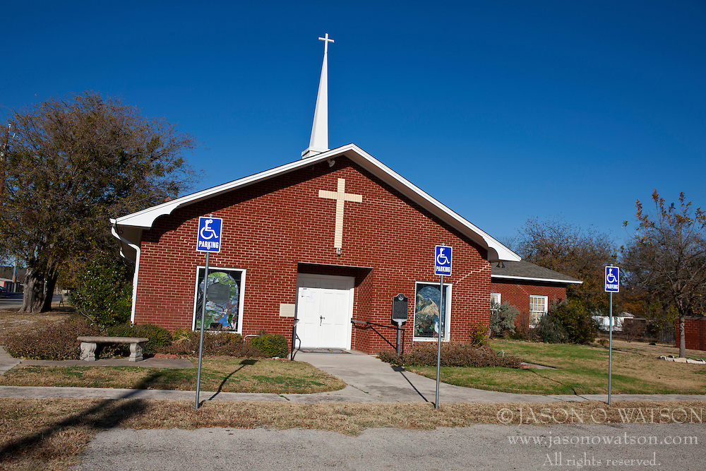 Bluff Dale United Methodist Church, Bluff Dale, Texas, United States of America