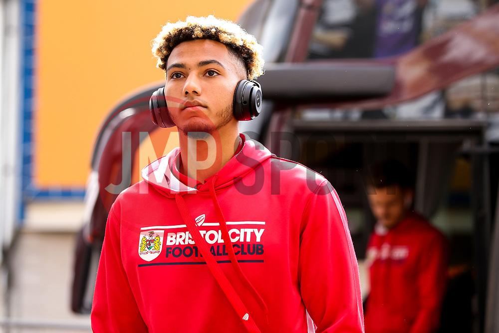 Lloyd Kelly of Bristol City arrives at Hull City - Mandatory by-line: Robbie Stephenson/JMP - 05/05/2019 - FOOTBALL - KCOM Stadium - Hull, England - Hull City v Bristol City - Sky Bet Championship