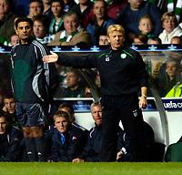 Photo: Jed Wee.<br /> Glasgow Celtic v FC Copenhagen. UEFA Champions League, Group F. 26/09/2006.<br /> <br /> Celtic manager Gordon Strachan.