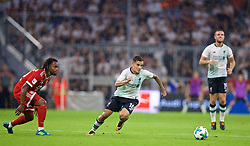 MUNICH, GERMANY - Tuesday, August 1, 2017: Liverpool's Philippe Coutinho Correia during the Audi Cup 2017 match between FC Bayern Munich and Liverpool FC at the Allianz Arena. (Pic by David Rawcliffe/Propaganda)
