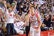 DESCRIZIONE : Reggio Emilia Lega A 2014-15 Grissin Bon Reggio Emilia - Banco di Sardegna Sassari playoff finale gara 2 <br /> GIOCATORE :Polonara Achille<br /> CATEGORIA : Esultanza Mani <br /> SQUADRA : GrissinBon Reggio Emilia<br /> EVENTO : LegaBasket Serie A Beko 2014/2015<br /> GARA : Grissin Bon Reggio Emilia - Banco di Sardegna Sassari playoff finale gara 2<br /> DATA : 16/06/2015 <br /> SPORT : Pallacanestro <br /> AUTORE : Agenzia Ciamillo-Castoria / Richard Morgano<br /> Galleria : Lega Basket A 2014-2015 Fotonotizia : Reggio Emilia Lega A 2014-15 Grissin Bon Reggio Emilia - Banco di Sardegna Sassari playoff finale gara 2 Predefinita :