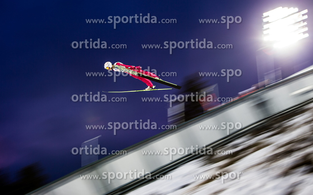 21.02.2015, Lugnet Ski Stadium, Falun, SWE, FIS Weltmeisterschaften Ski Nordisch, Skisprung, Herren, Finale, im Bild Kamil Stoch (POL) // Kamil Stoch of Poland during the Mens Skijumping Final of the FIS Nordic Ski World Championships 2015 at the Lugnet Ski Stadium, Falun, Sweden on 2015/02/21. EXPA Pictures © 2015, PhotoCredit: EXPA/ JFK