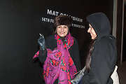 ESTELLA SANTACATTIRINA; JUSTYNA NIEWIARA, This is not an Exit. Mat Collishaw. Blain Southern. Hanover Sq. London. 13 February 2013.