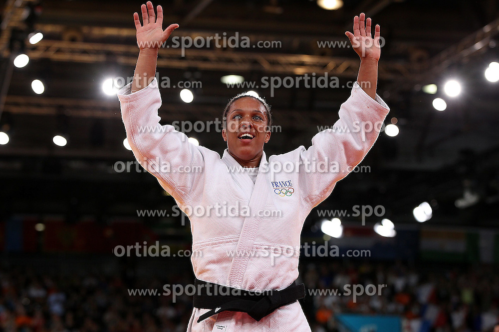 01.08.2012, ExCeL Exhibition Centre, London, GBR, Olympia 2012, Judo, im Bild Lucie Decosse // during Judo, at the 2012 Summer Olympics at ExCeL Exhibition Centre, London, United Kingdom on 2012/08/01. EXPA Pictures © 2012, PhotoCredit: EXPA/ Insidefoto/ Paolo Nucci..***** ATTENTION - for AUT, SLO, CRO, SRB, SUI and SWE only *****