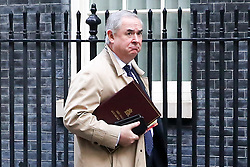 © Licensed to London News Pictures. 22/10/2019. London, UK. Attorney General GEOFFREY COX is seen in Downing Street after attending the weekly cabinet meeting. Photo credit: Dinendra Haria/LNP