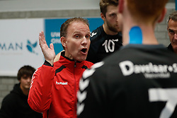 20181124 NED: Volleyball Top League ZVH - VCV: Zevenhuizen<br />Hans Seubring, headcoach of MKB Accountants VCV<br />©2018-FotoHoogendoorn.nl / Pim Waslander