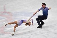 Aljona SAVCHENKO, Bruno MASSOT Germany gold Medal <br /> PAIRS FREE SKATING <br /> Milano 22/03/2018 Assago Forum <br /> Milano 2018 - ISU World Figure Skating Championships <br /> Foto Andrea Staccioli / Insidefoto