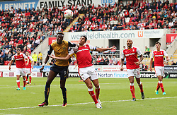 Tammy Abraham of Bristol City takes on Stephen Kelly of Rotherham United  - Mandatory by-line: Matt McNulty/JMP - 10/09/2016 - FOOTBALL - Aesseal New York Stadium - Rotherham, England - Rotherham United v Bristol City - Sky Bet Championship