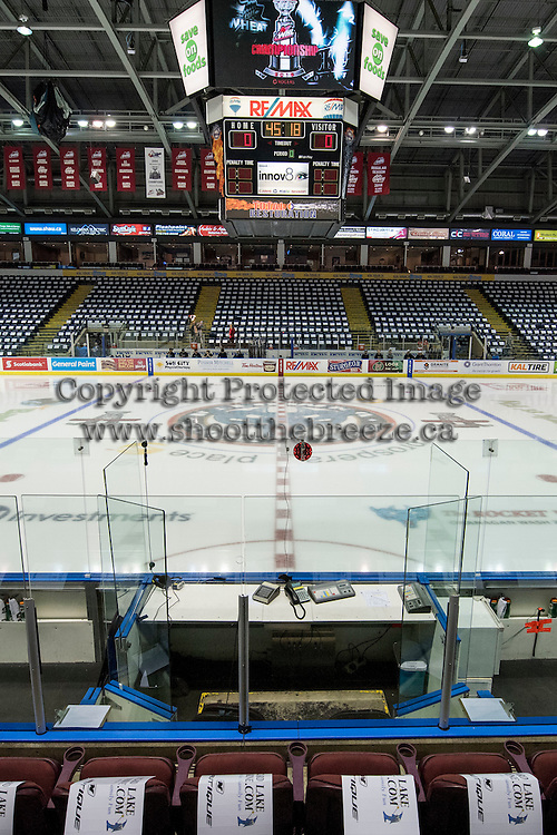 KELOWNA, CANADA - MAY 11:  on May 11, 2015 during game 3 of the WHL final series at Prospera Place in Kelowna, British Columbia, Canada.  (Photo by Marissa Baecker/Shoot the Breeze)  *** Local Caption ***