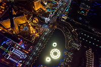 Las Vegas Strip (featuring Fountains of Bellagio)