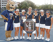 FIU Tennis Senior Day Boha 2014 Vs UAB