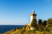 TANGIER, MOROCCO - 26th March 2014 -  Cape Spartel, Tangier, Rif region of Northern Morocco
