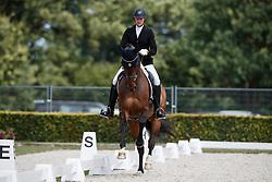 Öljemark Karin, SWE, Tiger G<br /> Longines FEI/WBFSH World Breeding Dressage Championships for Young Horses - Ermelo 2017<br /> © Hippo Foto - Dirk Caremans<br /> 04/08/2017