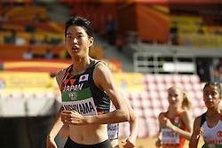 July 10, 2018 - Tampere, Suomi Finland - 180710 Friidrott, Junior-VM, Dag 1: Manami Nishiyama JPN competes in women's 3000 meters steeplechase during the IAAF World U20 Championships day 1 at the Ratina stadion 10. July 2018 in Tampere, Finland. (Newspix24/Kalle Parkkinen) (Credit Image: © Kalle Parkkinen/Bildbyran via ZUMA Press)