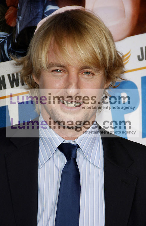 Owen Wilson at the Los Angeles premiere of 'Hall Pass' held at the ArcLight Cinemas in Hollywood on February 23, 2011. Credit: Lumeimages.com