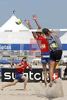 23/09/04 RIO DE JANEIRO<br />NELLA FOTO SKARLUND ATTACKS AGAINST ESPEN GORANSON<br />FOTO LUCIANO PIERANUNZI