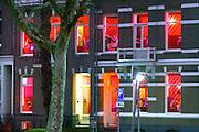Nederland, the netherlands, Nijmegen, 30-11-2016Nieuwe markt met raamprostitutie. Foto: Flip Franssen