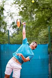 Blaž Vidovič during final of Državno prvenstvo v tenisu Ptuj, on May 30th, 2019 in Radenci, Slovenia. Photo by Blaž Weindorfer / Sportida
