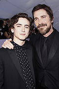 Timothée Chalamet, and Christian Bale