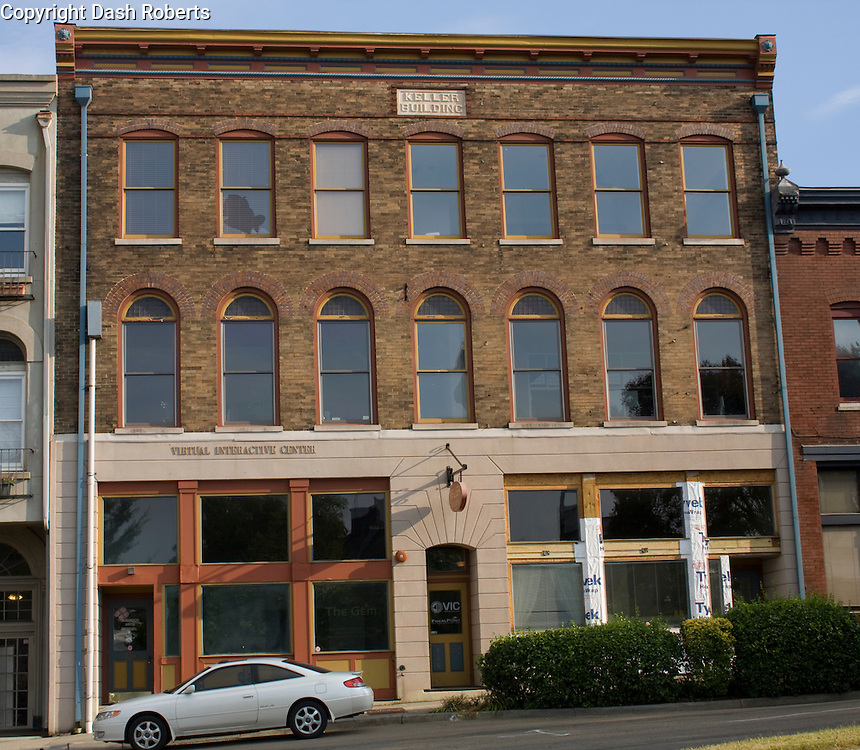 The Keller Building located on Summitt Hill Drive in Knoxville, Tn. is a mixed use residential/commercial facility.