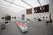 "Linz, Cultural Capital of Europe 2009. Lentos Kunstmuseum. Exhibition ""Best of Austria""."