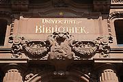 Heidelberg,Universitätsbibliothek (Jugendstil), Baden-Württemberg, Deutschland.| .Heidelberg, library of university, art nouveau, Baden-Wurttemberg, Germany.