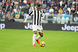 November 5, 2017 - Turin, Italy - Alex Sandro (Juventus FC) during  the Serie A football match between Juventus FC and Benevento Calcio on 05 November 2017 at Allianz Stadium in Turin, Italy. (Credit Image: © Massimiliano Ferraro/NurPhoto via ZUMA Press)