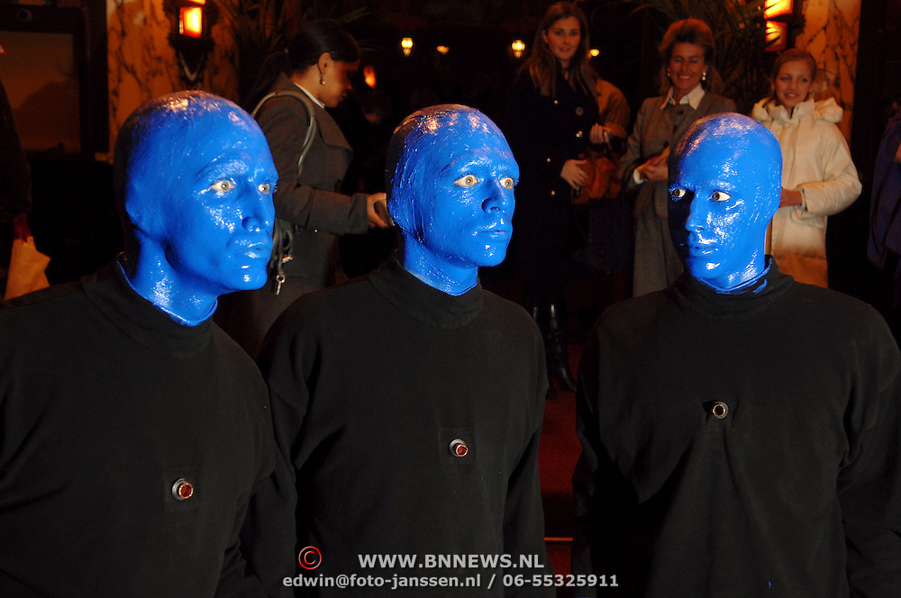 NLD/Amsterdam/20070221 - Premiere Dreamgirls, Blue Man Group