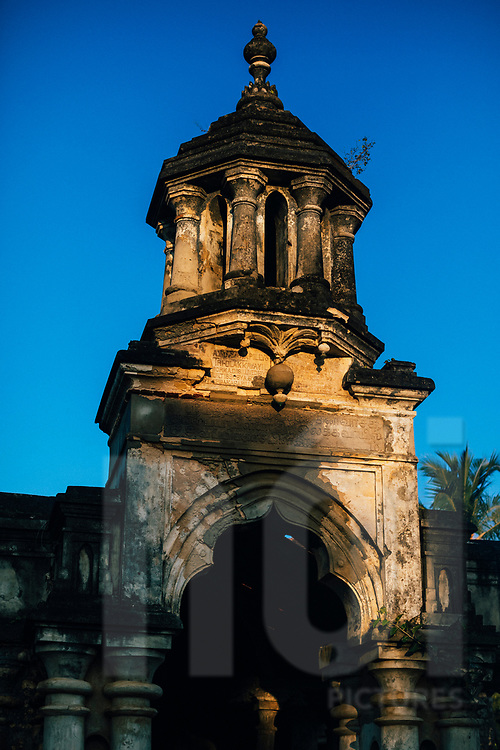 The ruins of the old minister's residence, also known as the Mantri Manai, Jaffna, Sri Lanka, Asia