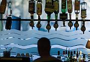 Le bar de &quot; Chez Prune&quot;, rue Beaurepaire, Paris, Paris Ile-de-France, France.<br /> Alcoholic beverage at &quot;Chez Prune&quot;, street of Beaurepaire, town of Paris, Paris Ile-de-France region, France.