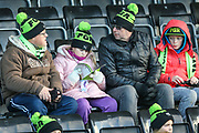FGR fans during the EFL Sky Bet League 2 match between Forest Green Rovers and Cheltenham Town at the New Lawn, Forest Green, United Kingdom on 25 November 2017. Photo by Shane Healey.
