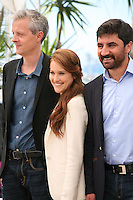 Producer Marc Bordure, actress Veronique Wuthrich, Actor Korkmaz Arslan at the My Sweet Pepper Land film photocall Cannes Film Festival on Wednesday 22nd May 2013