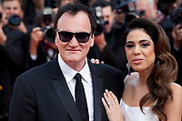 Director Quentin Tarantino and Daniela Pick at the Once Upon A Time... In Holywood gala screening at the 72nd Cannes Film Festival Tuesday 21st May 2019, Cannes, France. Photo credit: Doreen Kennedy