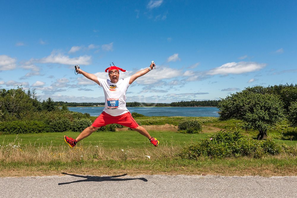 Great Cranberry Island Ultra 50K road race: Dave Mari