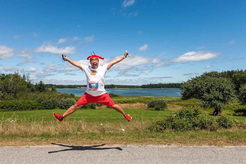 Great Cranberry Island Ultra 50K road race: Dave Mari