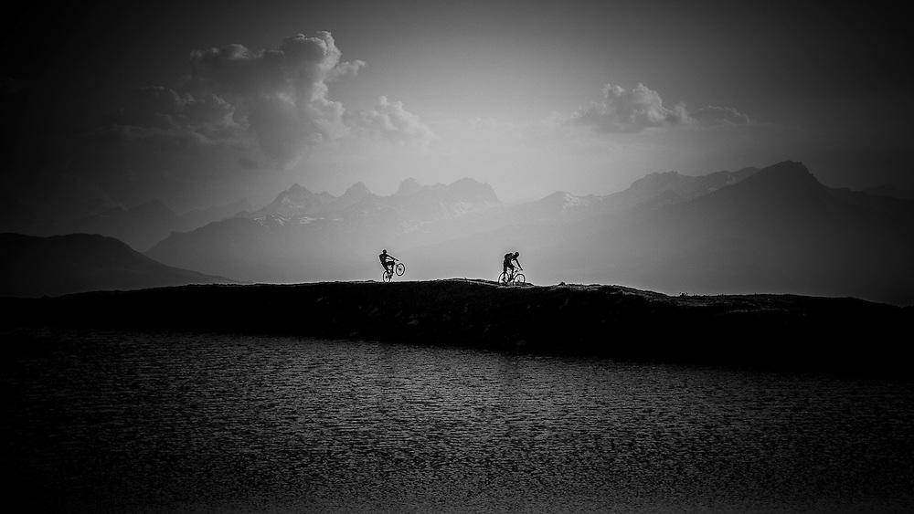 Rider: Tobias Woggon and Fabien Barel <br /> Location: Lenzerheide (Switzerland)