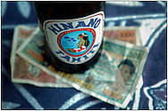 Copyright JIm Rice &copy; 2013.<br /> Hinano beer.<br /> Tahiti French Polynesia