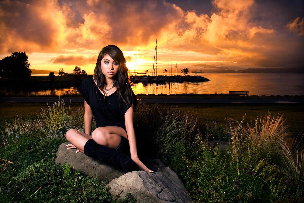 Model: Felisia at Vanier Park, Vancouver, BC, Canada