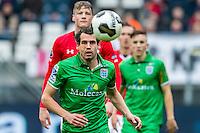 ALKMAAR - 26-02-2017, AZ - PEC Zwolle, AFAS Stadion, PEC Zwolle speler Dirk Marcellis