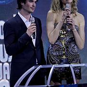 MON/Monte Carlo/20100512 - World Music Awards 2010, Ian Somerhalder en Karolina Kurkova